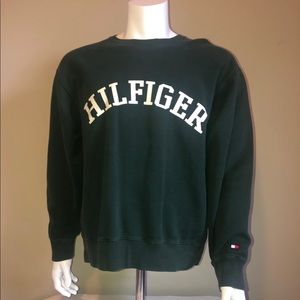 Tommy Hilfiger Crewneck Spell out Arch Sweatshirt